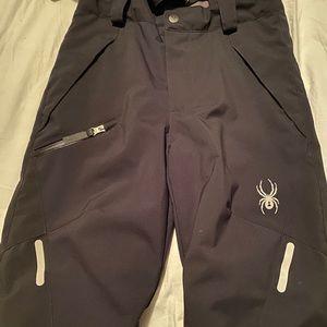 Newish Spyder Snow Pants For Kids Size 10